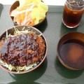 厚切り熟成かつ丼(みそ汁付き)