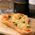 マルゲリータのナンピザ
