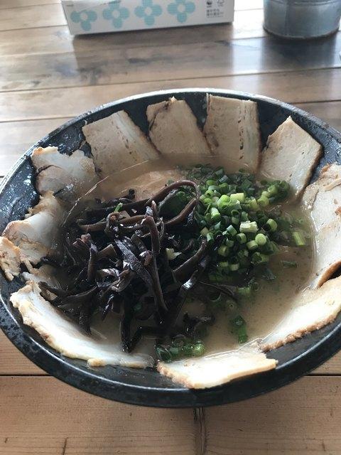 麺屋 一鳳のラーメン