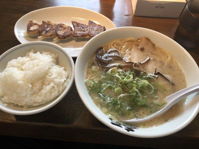 博多麺屋台 た組のラーメン