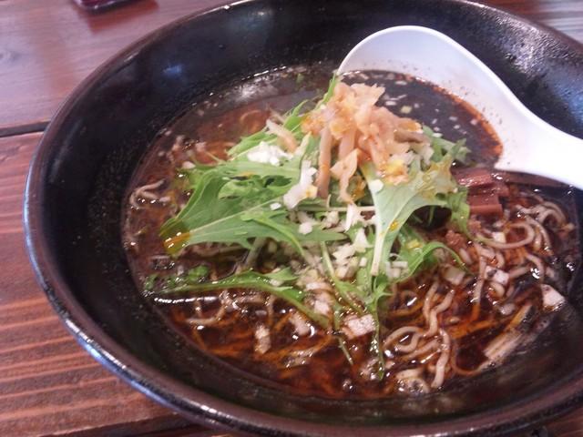 台湾ハオチイ麺天天のラーメン