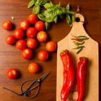 Tomato and Roast Pepper Ekadashi Soup
