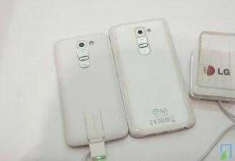 LG G2 vs G2 mini rückseite
