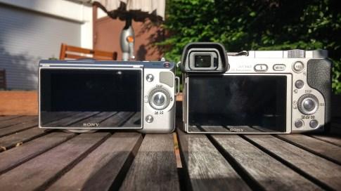 Sony A6000 vs NEX5