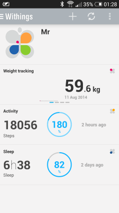 Withings Pulse O2 App