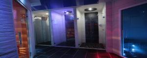 Le Docce Emozionali del TBlue Sauna