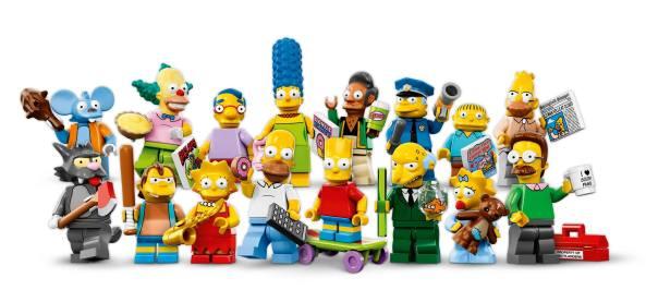 Lego Simposns Minifigures