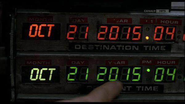 Happy Back to the Future Day - 21 October 2015