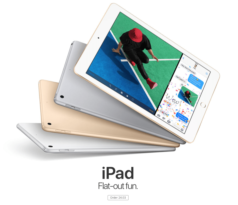 Apple iPad - March 2017
