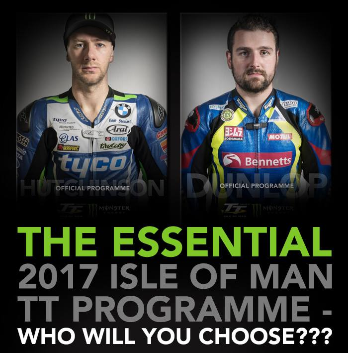 2017 Isle of Man TT Programme Cover Art - Who Will You Choose?