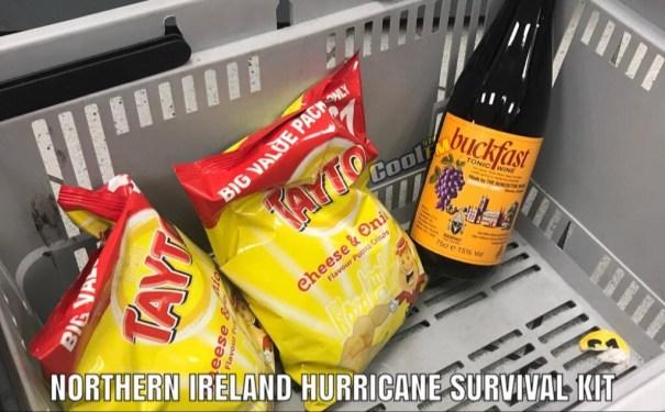 Northern Ireland Hurrican Survival Kit
