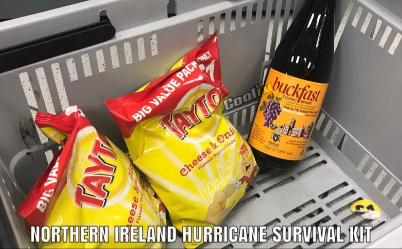 Northern Ireland Hurrican Survival Kit