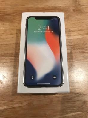 iPhone X - 3rd November 2017