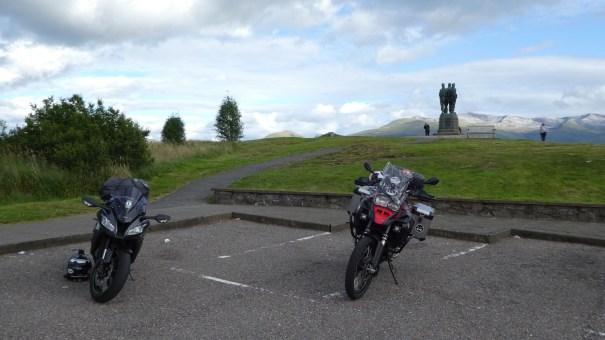 NC500 : North Coast 500 Scottish Highlands - The Commando Memorial