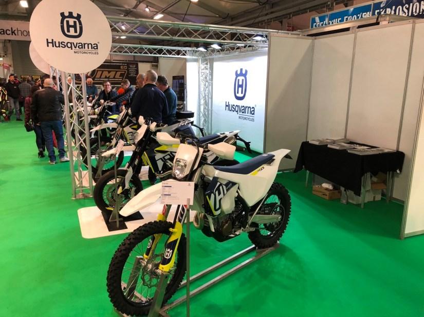 Husqvarna Stand at 2018 NI Motorcycle Festival