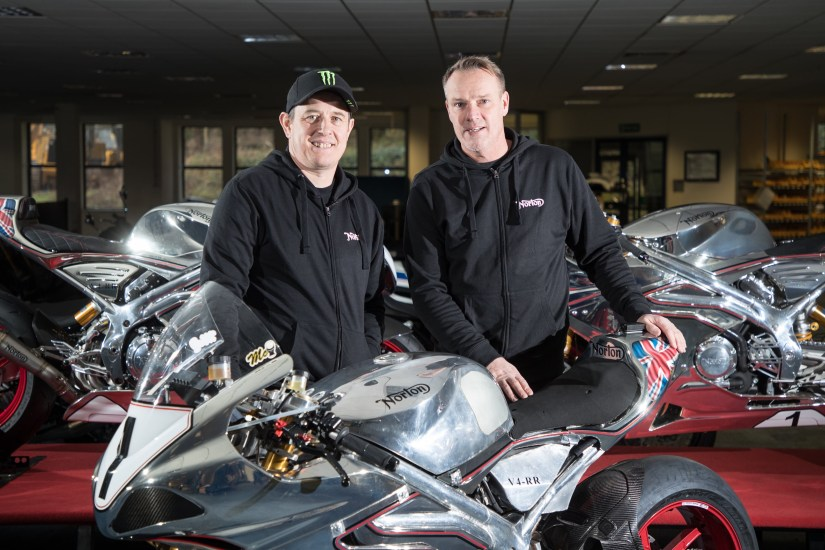 It's Official!  John McGuinness is off to Norton for 2018!