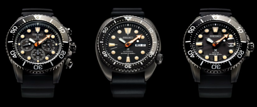 The Seiko Black Series