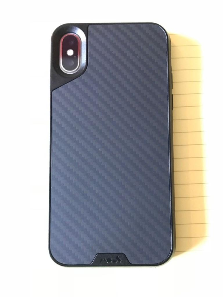 Mous Limitless 2.0 Carbon Fibre iPhone X Case