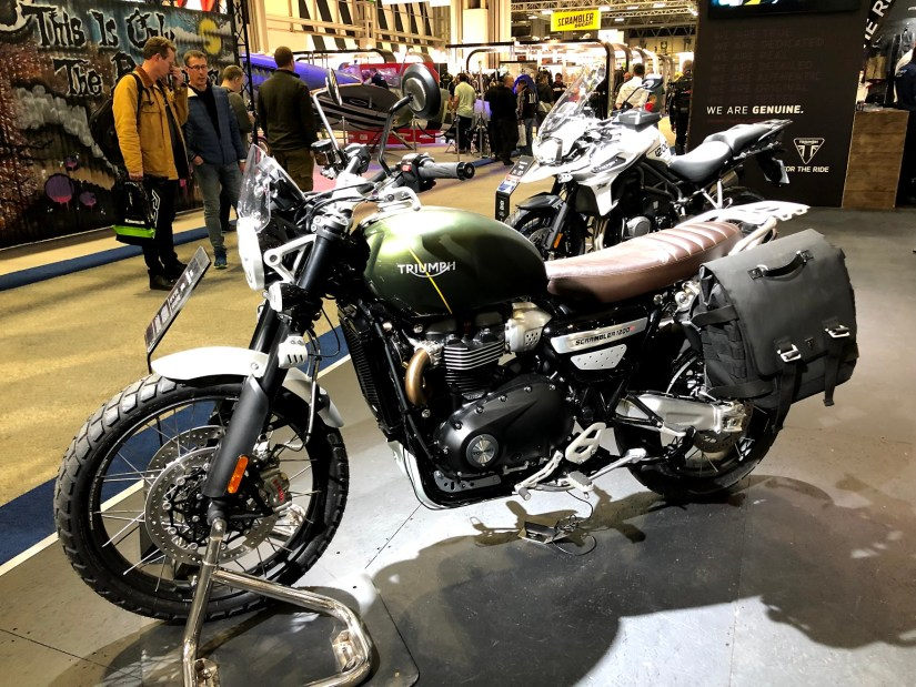 Triumph Scrambler at Motorcycle Live 2018
