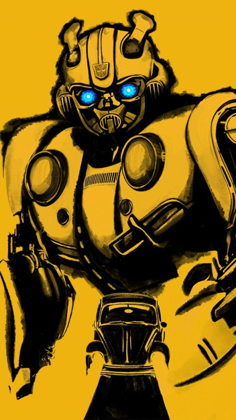 Bumblebee Wallpaper - iPad
