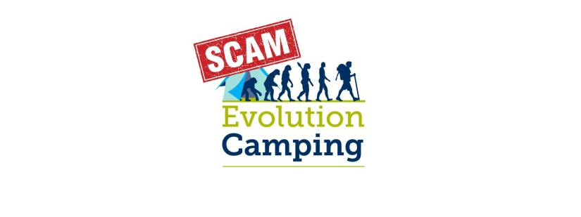 Evolution Camping Scam 2019