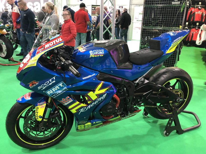NI Motorcycle Festival 2019 : Burrows Engineering 2019 Livery
