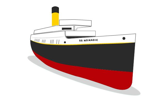 Hello Maritime Mile - SS Nomadic