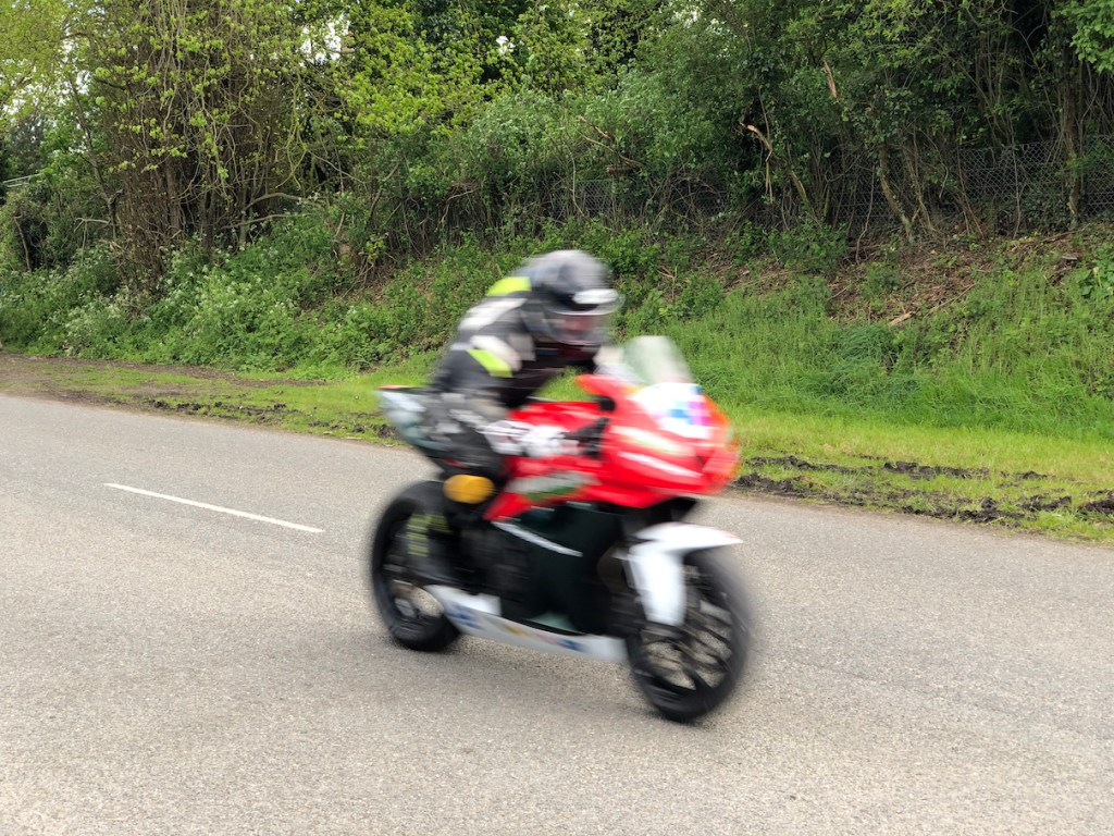 2019 Tandragee 100 native iPhone X Camera