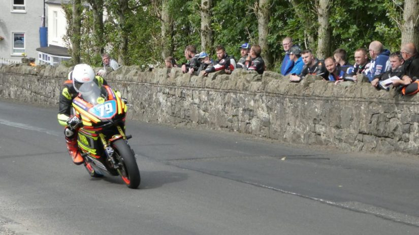 2019 Armoy Races : Vinny Brennan taking the Junior Support Win