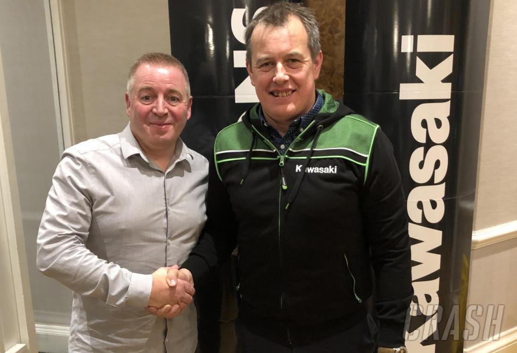 2020 Road Racing Rumours : John McGuinness Signs for Bournemouth Kawasaki :