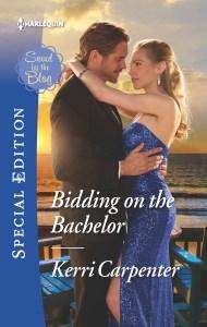 BIDDING ON THE BACHELOR cover