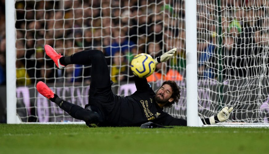 Ray Clemence praises Liverpool star Alisson after Norwich ...