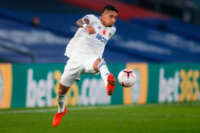 He's too good for us': Leeds fans react to performance of Raphinha in  Crystal Palace loss