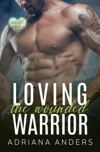 Loving the wounded warrior - adriana anders