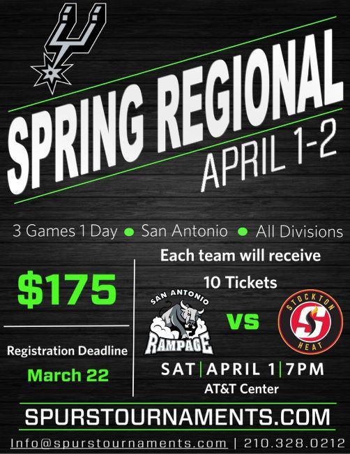 Spurs Spring Regional