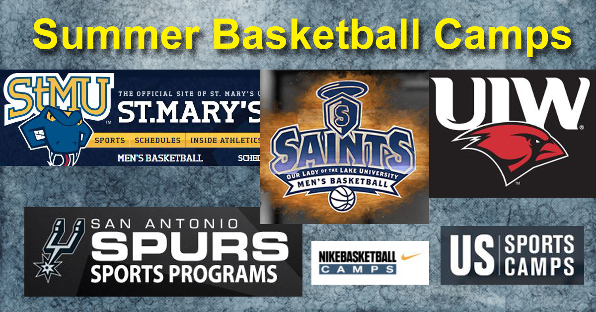 Summer Basketball Camps at Colleges in San Antonio