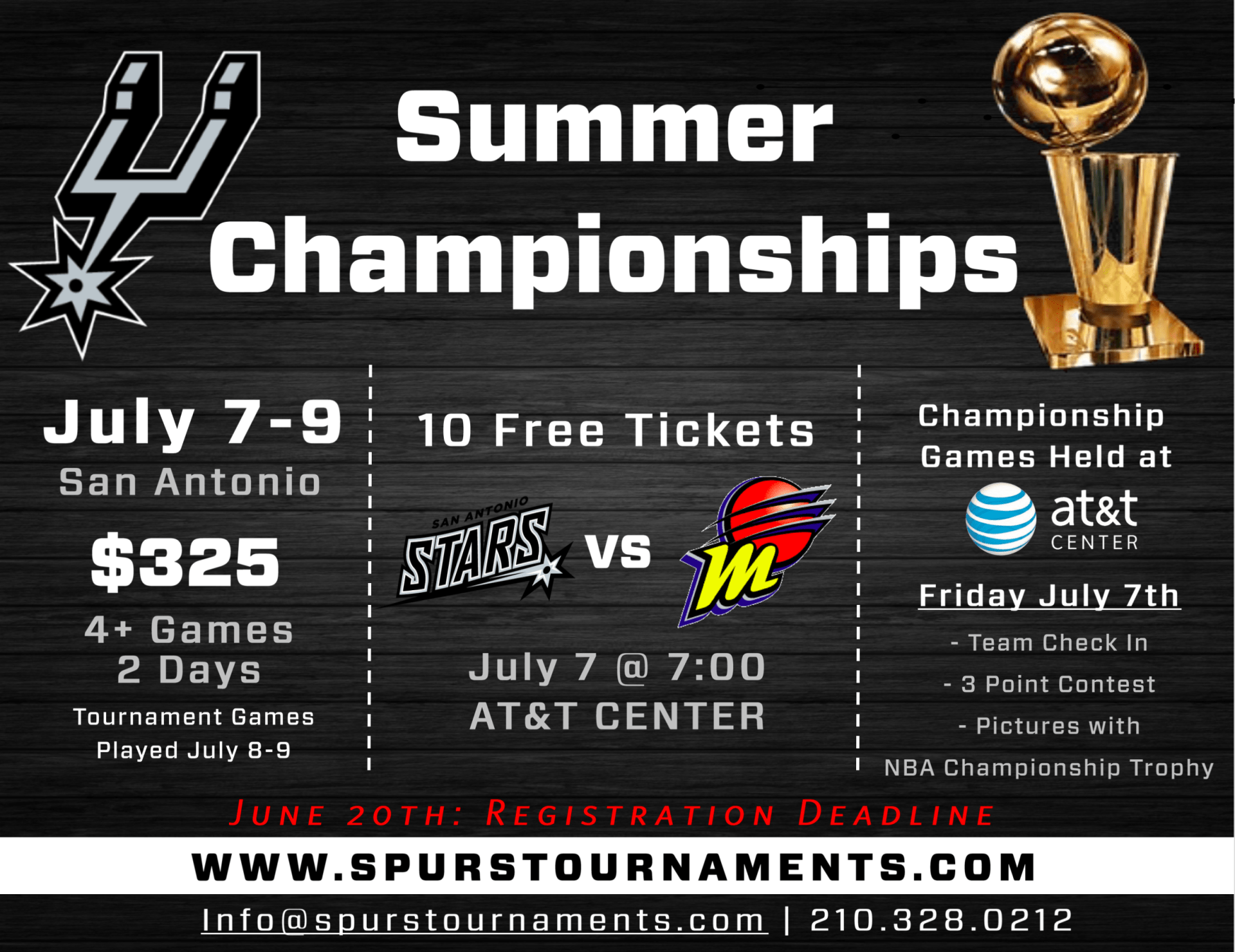 Summer Championships July 7-9