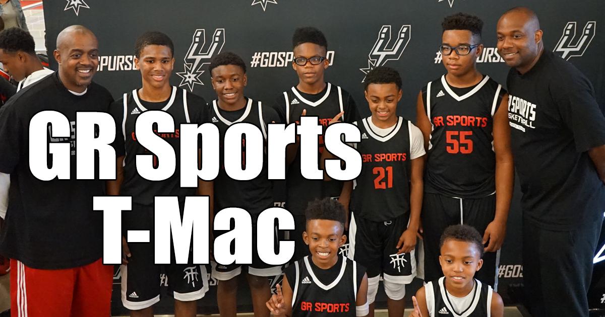 GR Sports T-MAC 6th Grade Boys: Spurs Basketball Tournament Recap (2018)