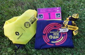 Medalia si tricoul TBT Race