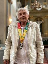 Doamna Sofia Folberth, prima medaliata la TBT Race