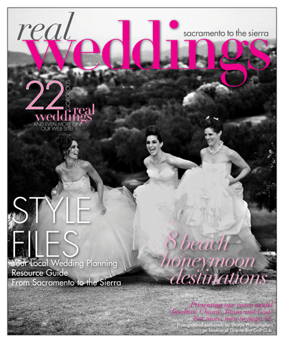 Real Weddings Magazine Cover Winter 2009