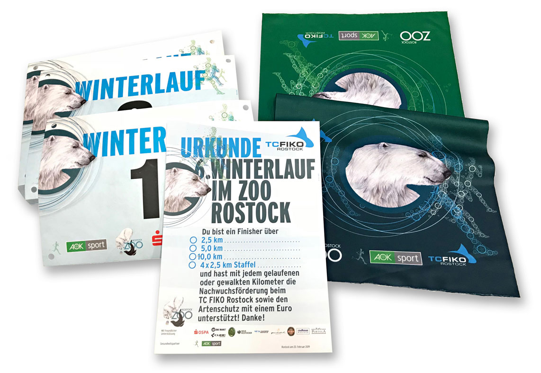 6. Winterlauf durch den Rostocker Zoo – es ist angerichtet!