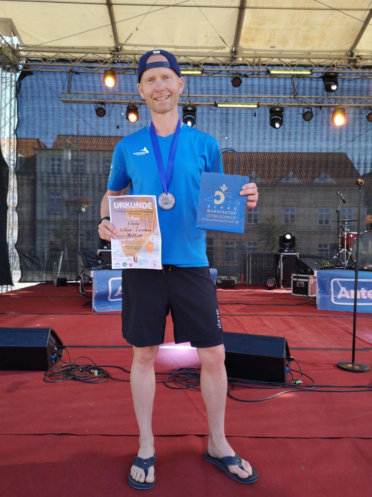 Silvio Zippan gewinnt Ultramarathon