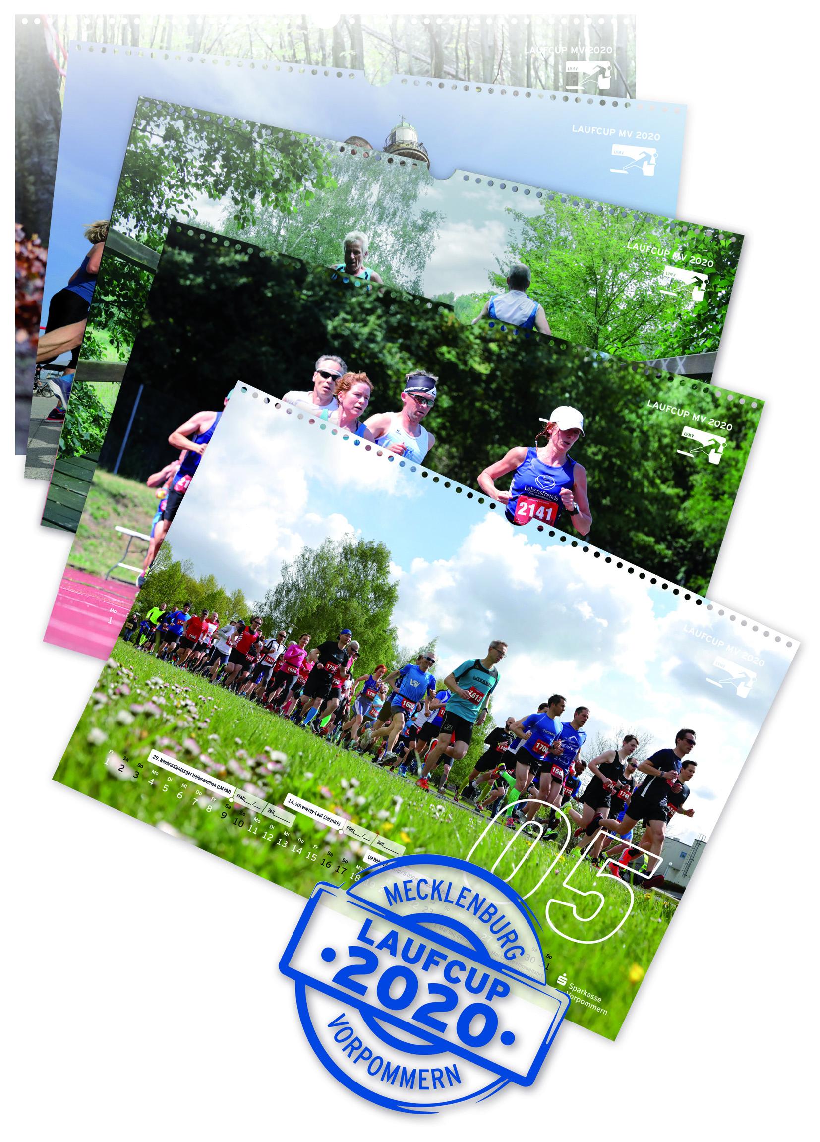 Laufcup-Kalendervorschau 2020