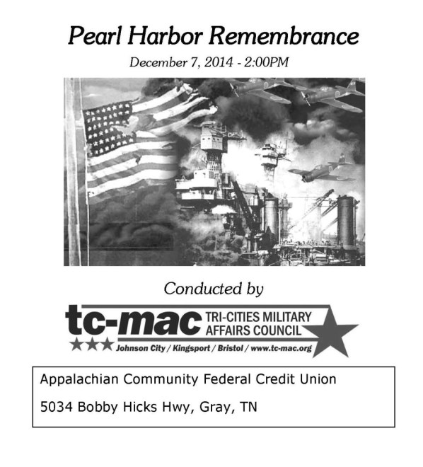 Pearl Harbor Flyer 2014A