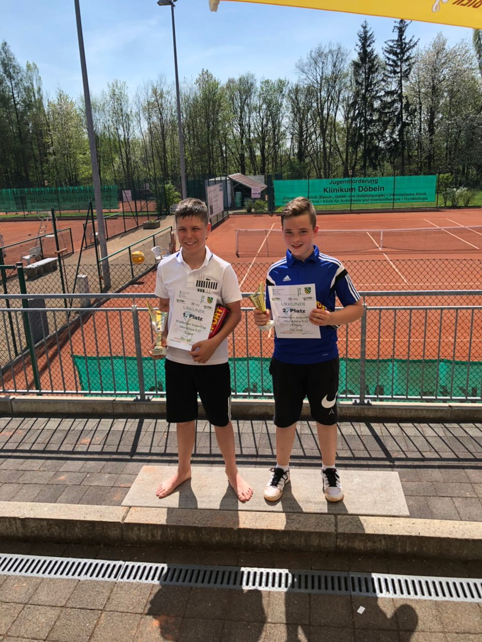 Zweiter Platz für Fiete Lorenz beim Fünften Waldheimer Junior Cup