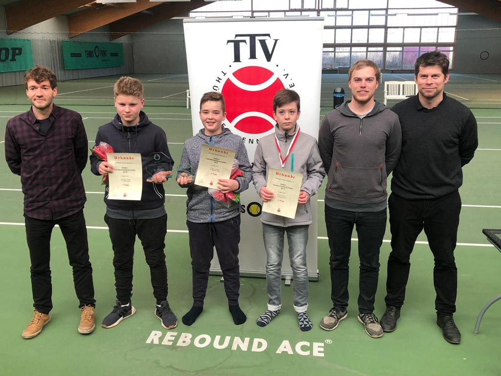 Hallenlandesmeisterschaften der U14-Junioren
