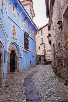 The streets of Albarracín