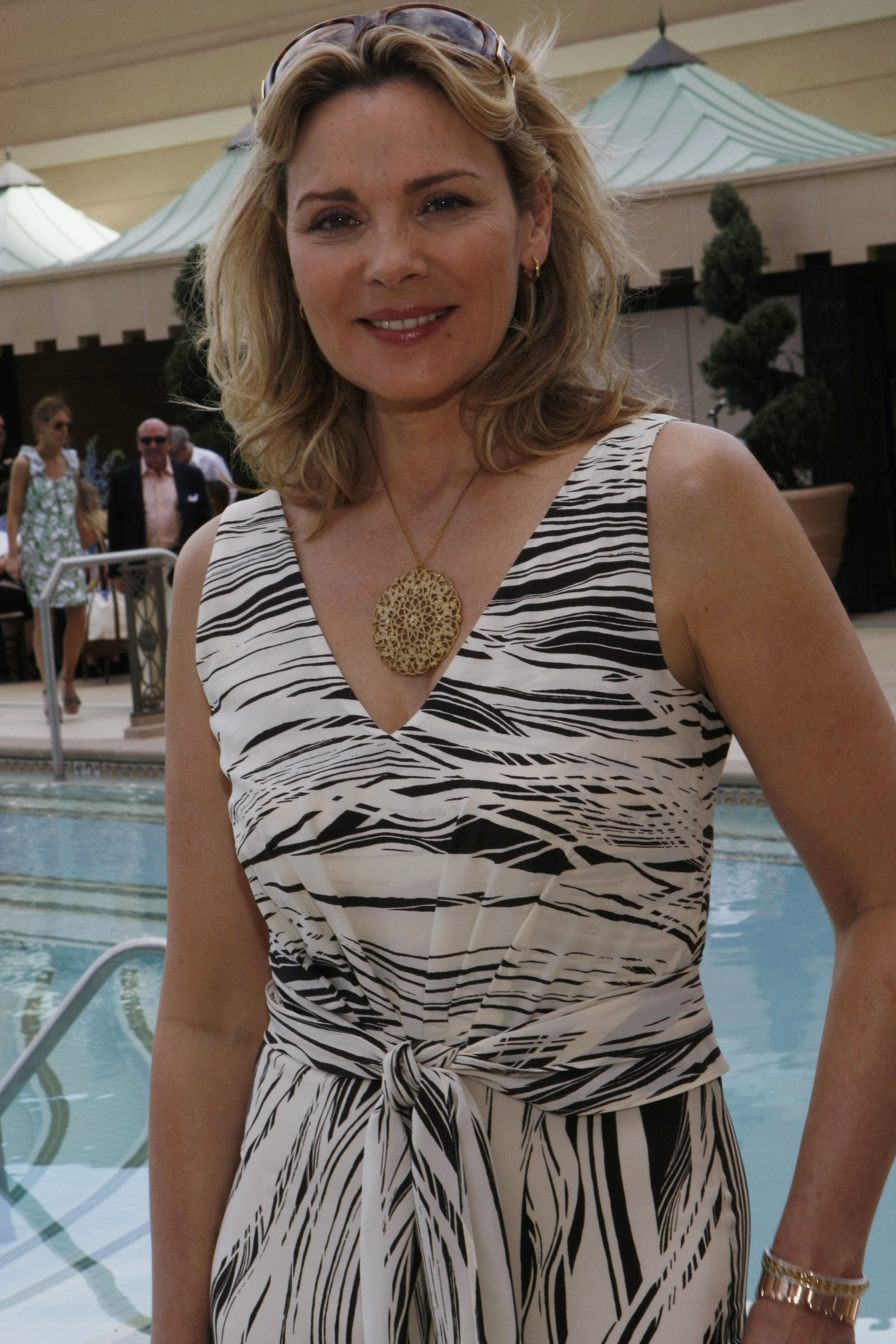 Kim Cattrall Hits Las Vegas to Relax Before Premiere