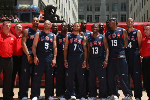 U.S. Olympic Team baskeball 2008